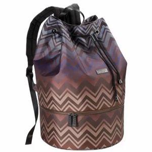 Missoni Backpack Chevron Gym Bag Holdall Weekender